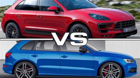 Porsche Macan S Vs Audi Sq5 by Porsche Macan S Vs Audi Sq5 Autos Post