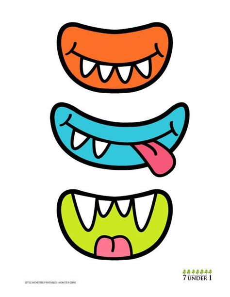free printable monster eyes and mouth little monster party decorations monster eyes and