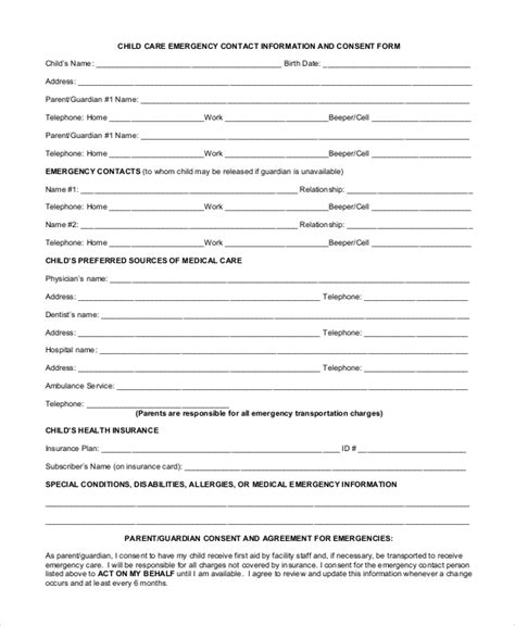 contact information form vendor information form vendor