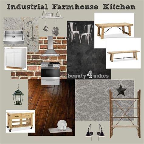 Industrial Farmhouse Kitchen   Moodboards   Pinterest