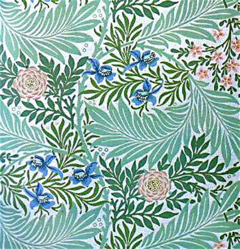 tappezzerie inglesi william morris wallpaper designs images magazine