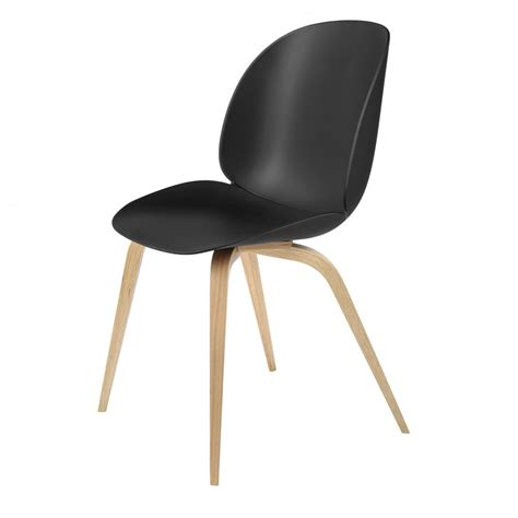 Oak And Black Dining Chairs Beetle Dining Chair Black Oak Gubi