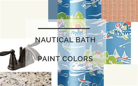 nautical color scheme nautical bathroom color scheme one room challenge diy