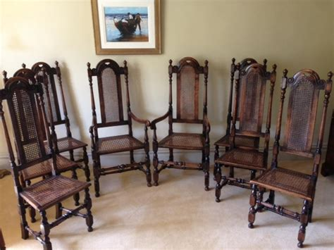 Set Of 8 Dining Chairs by Set Of 8 Quality Dining Chairs In Furniture Boxes