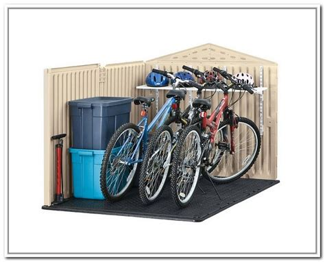 Motorcycle Storage Shed Rubbermaid by 1000 Ideas About Rubbermaid Storage Shed On