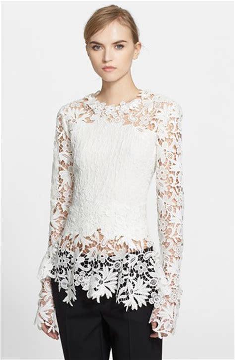imagenes de blusas blancas con encajes blusas de moda 2018 187 blusas blancas con encaje 3