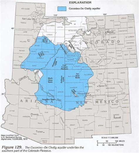 colorado aquifer map ha 730 c colorado plateaus aquifers coconino de chelly