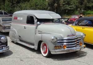 nostalgia on wheels 1949 chevy 1 2 ton panel truck quot eddie