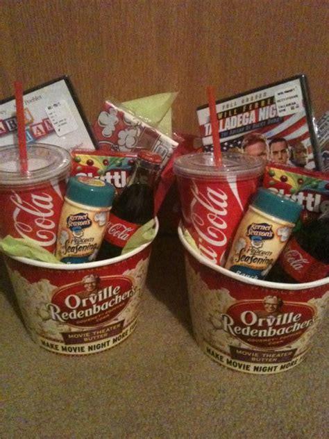 17 best ideas about movie basket gift on pinterest