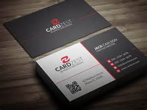free modern business card templates free modern business card template by mengloong on deviantart
