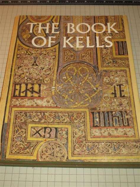 The Book Of the book of kells reproductions from the manuscript in