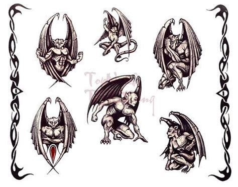 tribal gargoyle tattoo best 25 gargoyle ideas on gargoyle