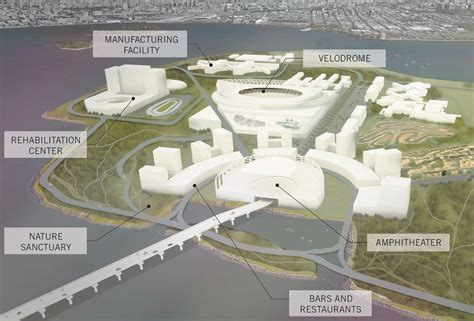 Garage Designers beyond bars designers reimagine rikers island as a