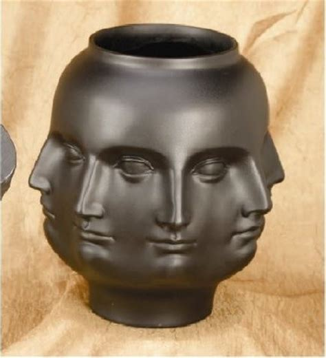 Vase Faces by Perpetual Deco Vase Eclectic Vases By
