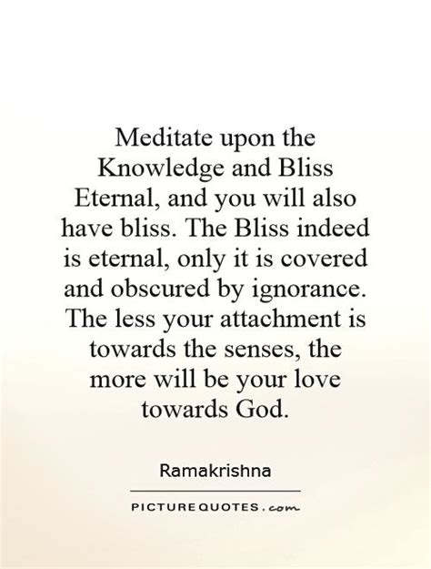 bliss more how to succeed in meditation without really trying books meditate upon the knowledge and bliss et by ramakrishna