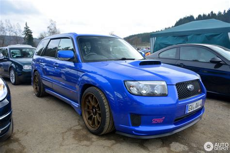 subaru sti 03 subaru forester sti 3 april 2016 autogespot