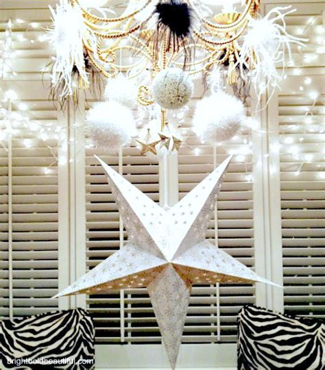 New Year Decorations by Diy New Years Ideas Glitter It Up