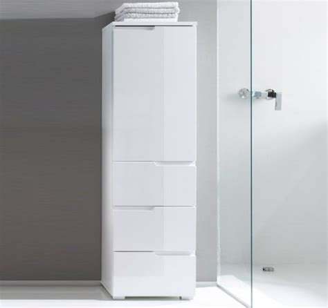 white gloss tall 2 door bathroom cabinet with 1 mirrored nantes white towel ladder 2017 ld6