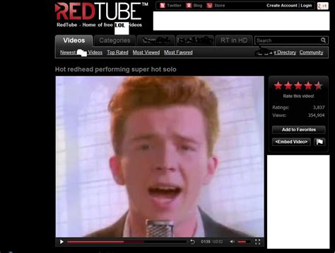 Know Your Meme Rick Roll - this is a rick roll rickroll know your meme