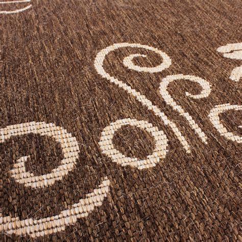 sisal teppich 200x200 carpet modern flat weave sisal look kitchen carpet coffee