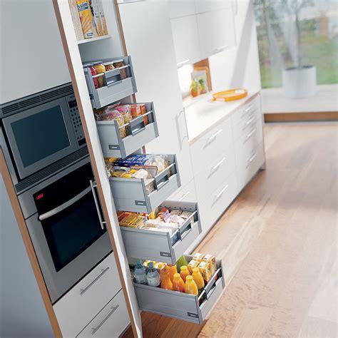 schublade tellerhalter blum larder drawers tandembox clutterfree kitchens