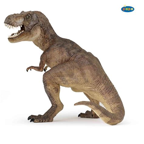 Dino Tirex papo t rex dinosaur model brown