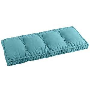 Tufted Ottoman Bench Boxed Bench Cushion Teal Pier 1 Imports