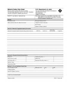 Blank Msds Template by Osha Form 174 Fill Printable Fillable Blank