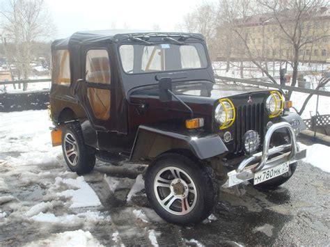 jeep mitsubishi used 1979 mitsubishi jeep photos 2650cc diesel manual