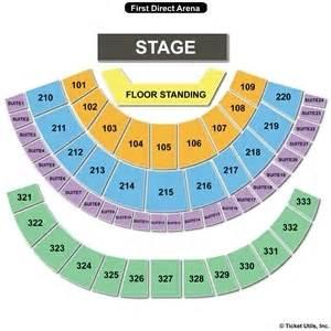 Leeds Arena Floor Plan First Direct Arena Seating Charts