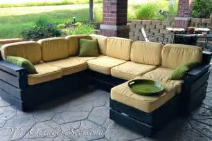 Patio Sectional Sofa Diy Outdoor Sectional Build It Yourself Out Of Regular Wood From A Home Improvement Store