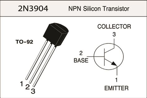 transistor model bc547 2n3904 5pcs robotech shop