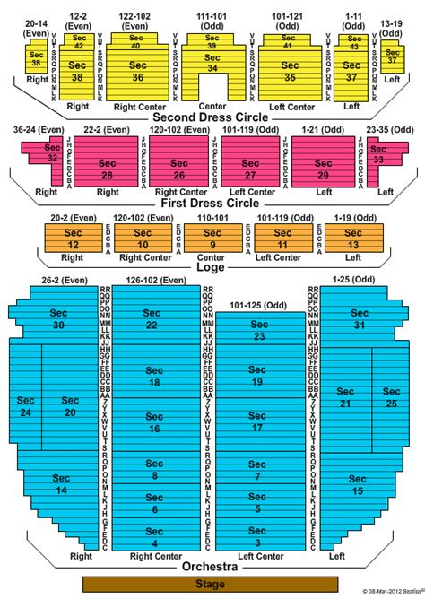 ppac seating chart vp discount health