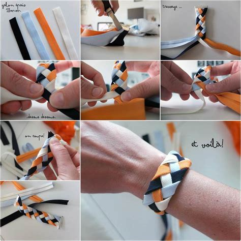 creative ideas diy and ribbon how to diy 4 strand braided ribbon bracelet