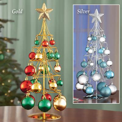 tabletop ornament gold christmas tree from collections etc