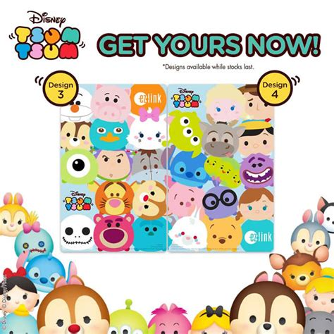 Buy Disney Gift Card Online - ez link new disney tsum tsum cards wave 2 from 14 oct 2016
