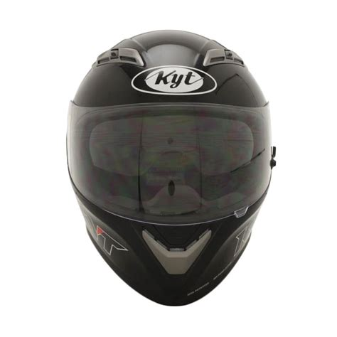 Helm Kyt Vendeta 2 Visor Solid jual kyt vendeta 2 solid black metalik almer helmet di