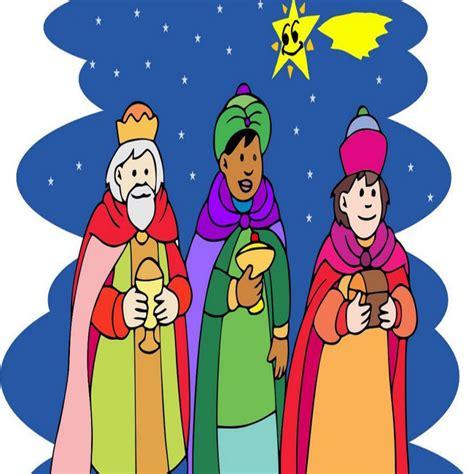 imagenes los reyes magos dibujos de los reyes magos a color