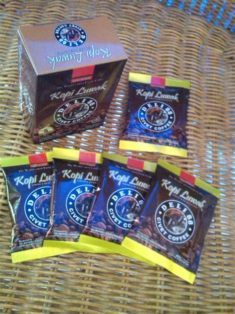 kopi luwak civet coffee 10gr sachet