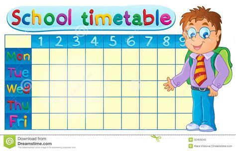 timetable theme image 1 stock photos image 32459243