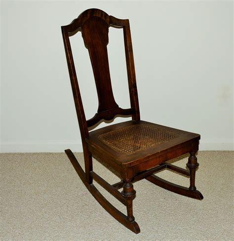 rocking chair seat antique nursing rocking chair with seat ebth