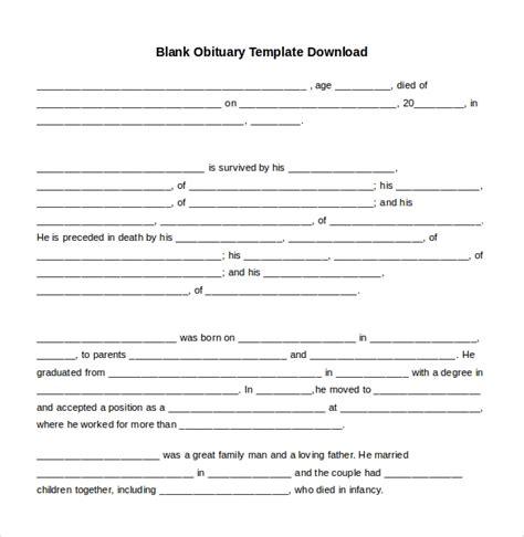 10 Microsoft Word Obituary Templates Free Download Free Premium Templates Obituary Template For Microsoft Word Free