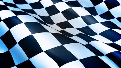 checkered flag background checkered flag waving on blue background screen