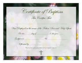 Christian Baptism Certificate Template by Free Graphics And Printables Trulytruly Net