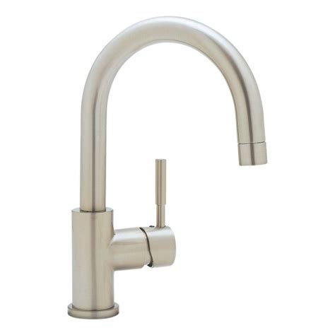 Bar Faucet Single by Kohler Wellspring Single Handle Bar Faucet In Vibrant Brushed Nickel K 6666 Bn The Home Depot