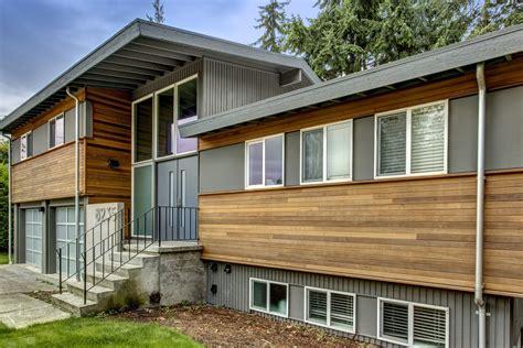Split Level House Siding Ideas House And Home Design