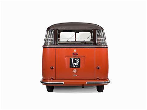volkswagen van back 1955 volkswagen van sold for 233k not hippie autoevolution
