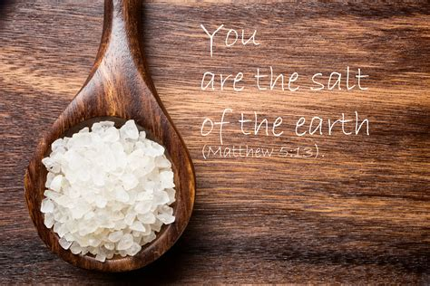 Your Called Earth christian you are the salt of the earth airō