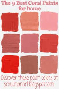 coral paint colors for creative living the best 9 coral color paint