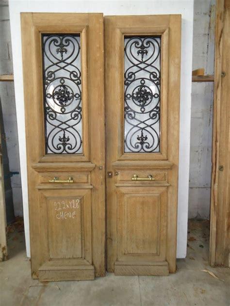 portes d entree anciennes ajourees 2 vantaux vente de